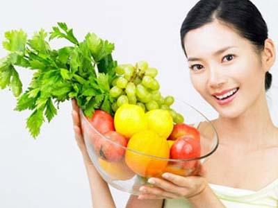 giảm cân với rau củ
