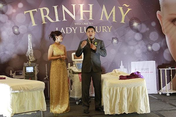 hội thảo lady luxury spa trinh mỹ